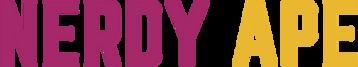 Nerdy ape logo